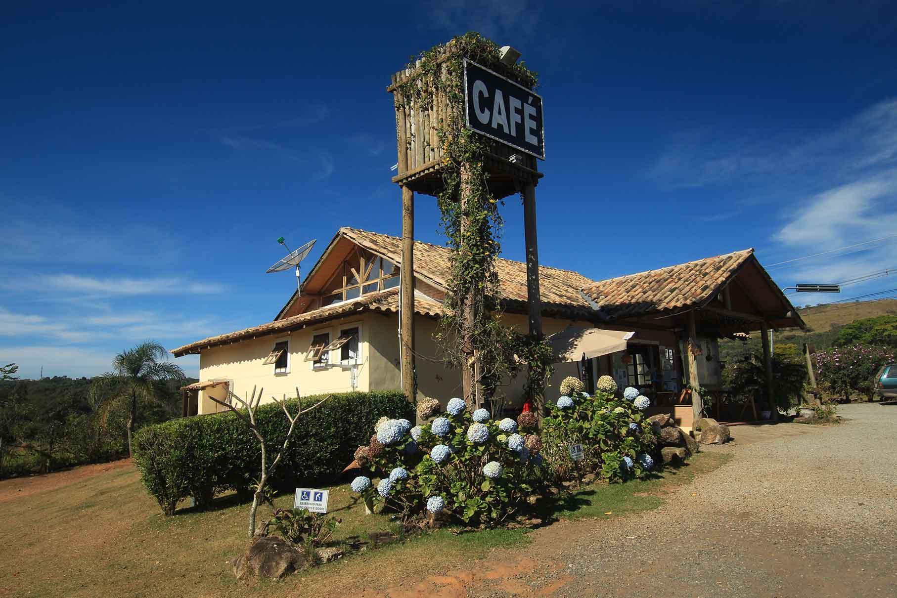 Café turismo em Atibaia-SP
