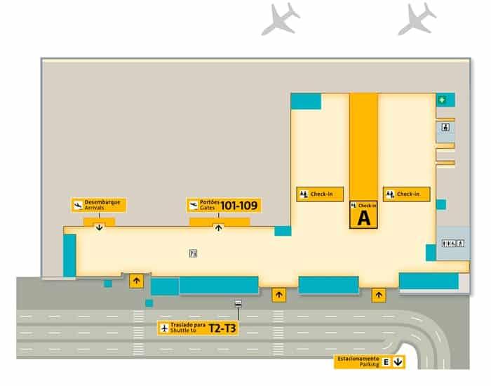 terminal 1 aeroporto de guarulhos transfer