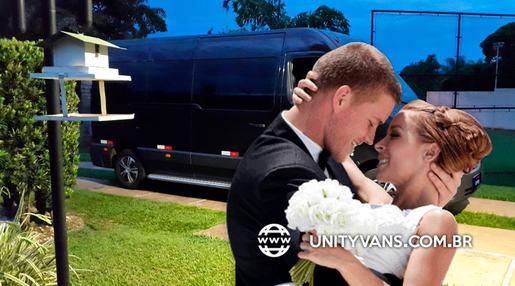 Locação de vans para casamentos e festas de formatura