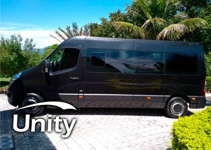 Van de Alto padrão para locação com motorista ao Anhembi
