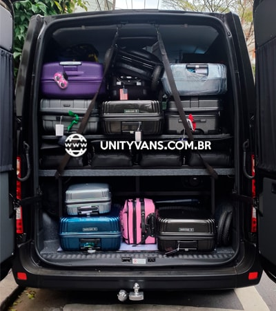bagagem transporte van
