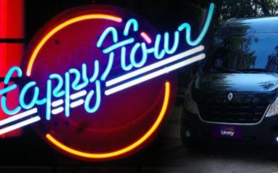 Aluguel de Van para Happy Hour