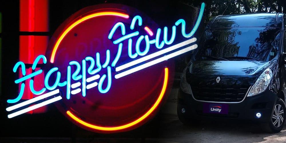 Aluguel de Van para Happy Hour em SP