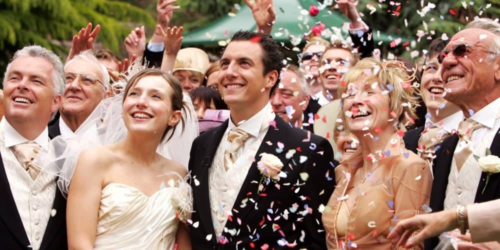 Convidados em Casamento luxo