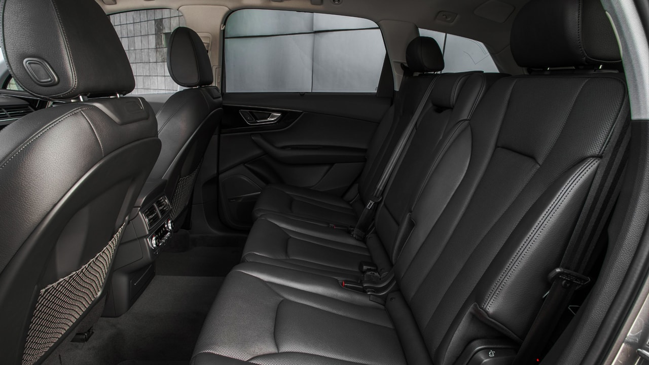 Interior Q7 Blindado Quattro Luxo Diaria em SP com motorista Bilingue