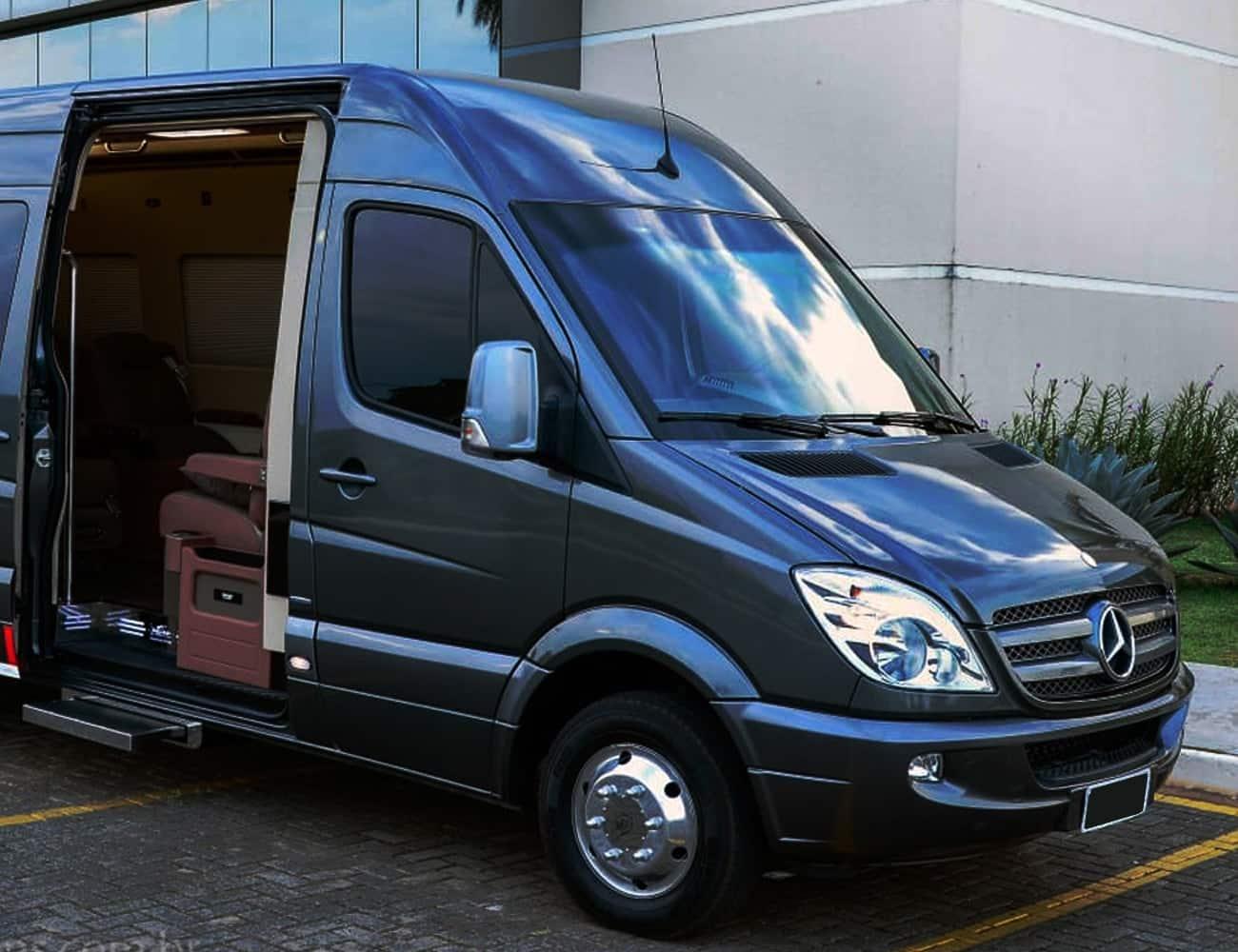 JetVan São Paulo com motorista, interior confortável para diárias, casamentos, viagem, consulados, enbaixadas, delegaçoes, empresas