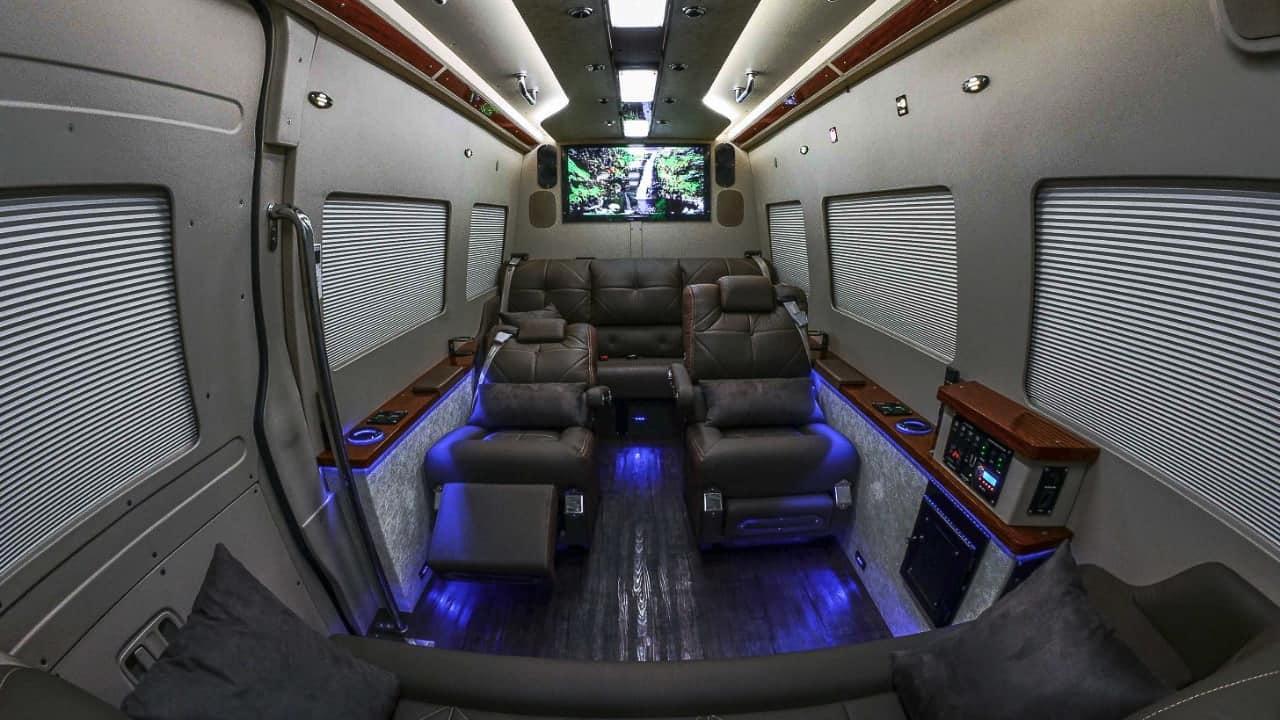 Jet Van Luxo em Sp