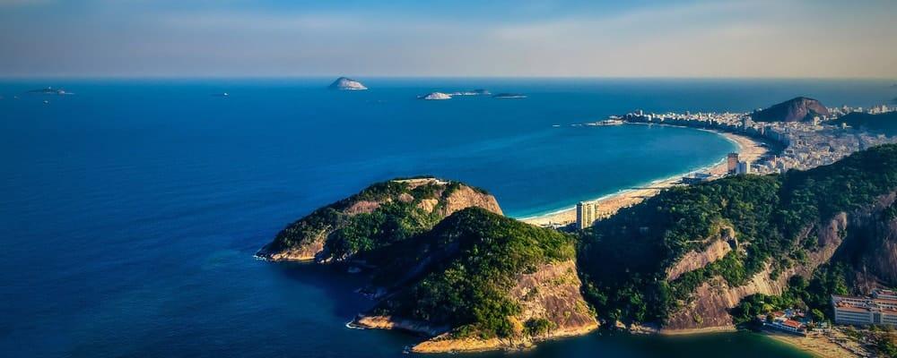 Litoral do Rio de Janeiro para Mergulho profissional