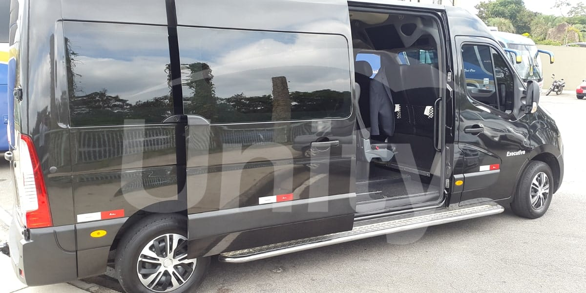 Locação de Van com Motorista na Capital Paulista