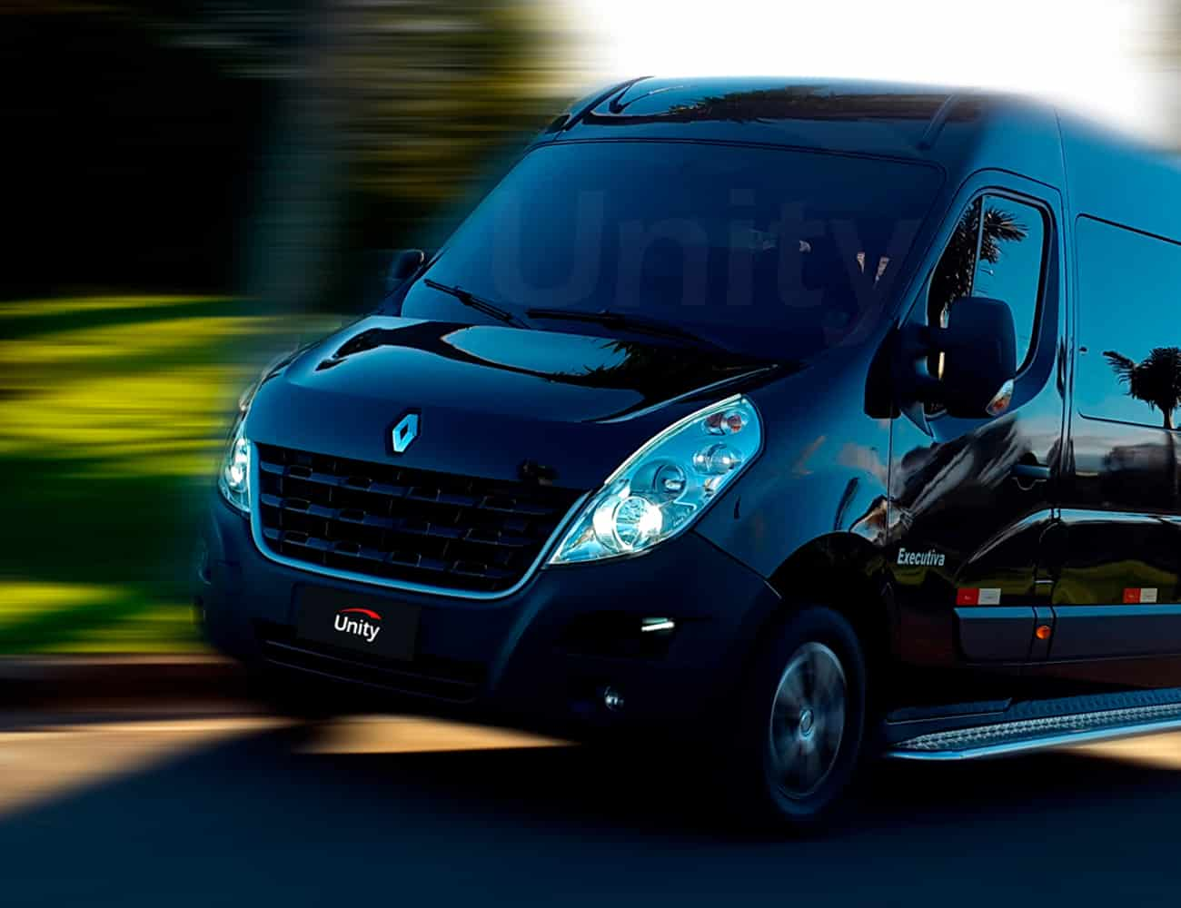 Locação de Vans com Motorista em São Paulo e ABC Paulista, Transfer e Viagem Unity Vans