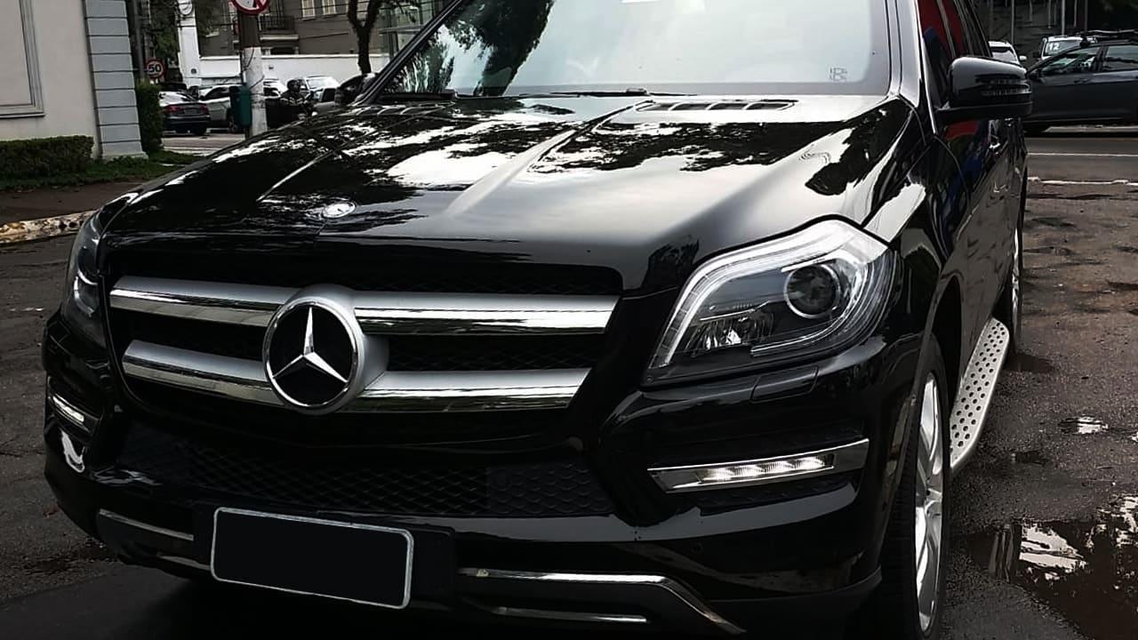 Mercedes GL500 Blindado 6 passageiros, evento, empresa, embaixada, consulado e business