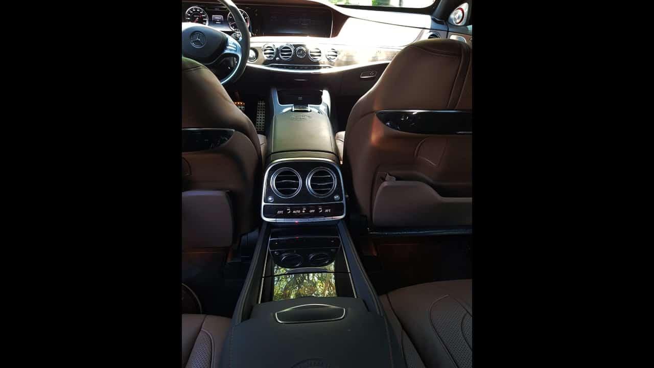 Mercedes S63 AMG Blindado com motorista em SP e ABC