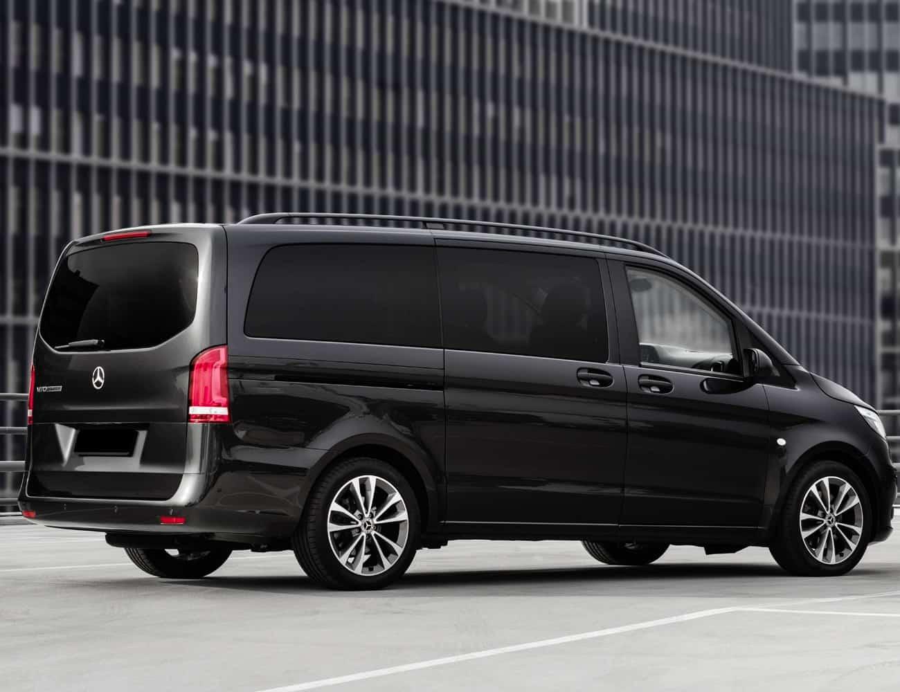 Minivan blindada com motorista para diaria em sp e rj vito