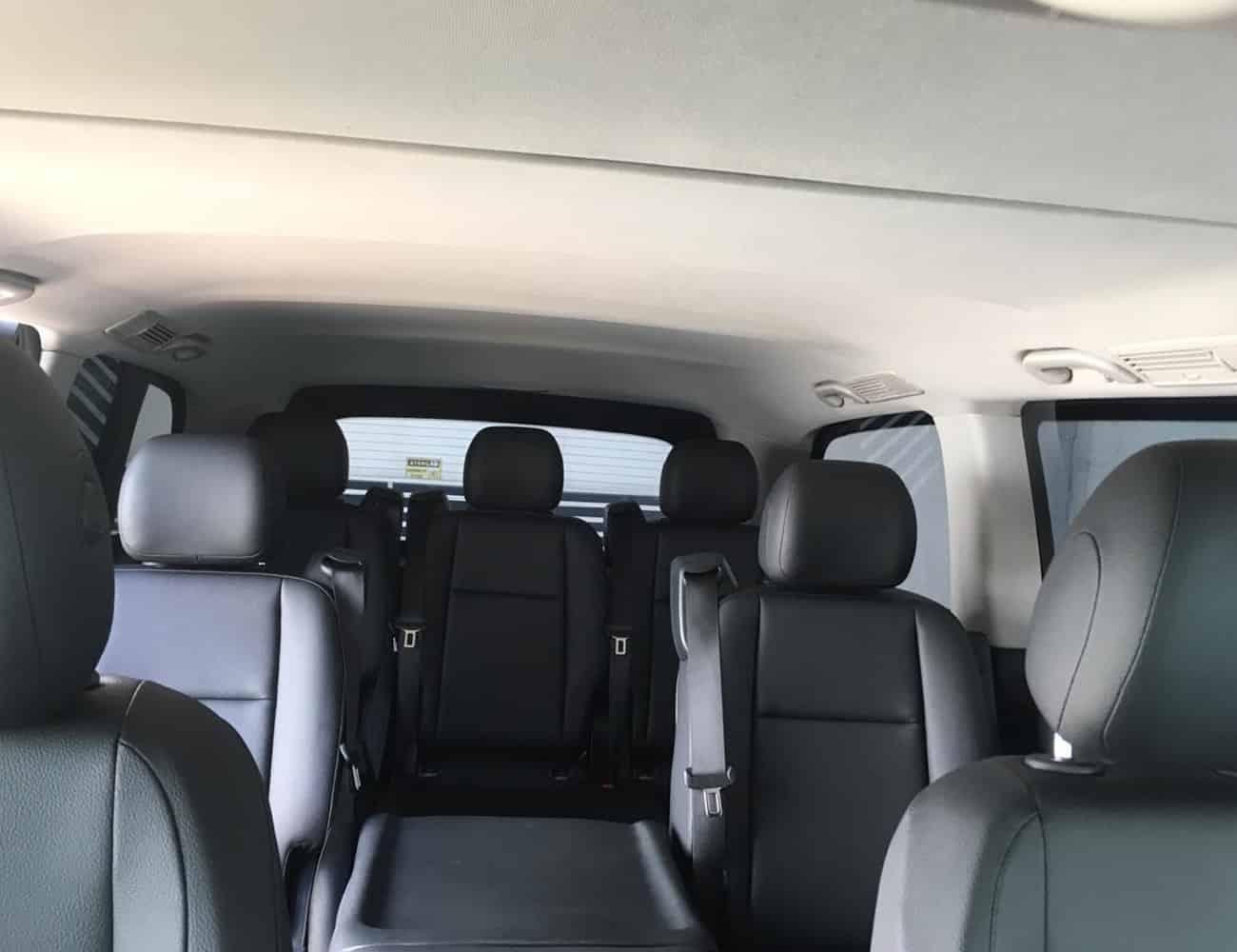 Minivan blindada luxo em sp vito mercedes