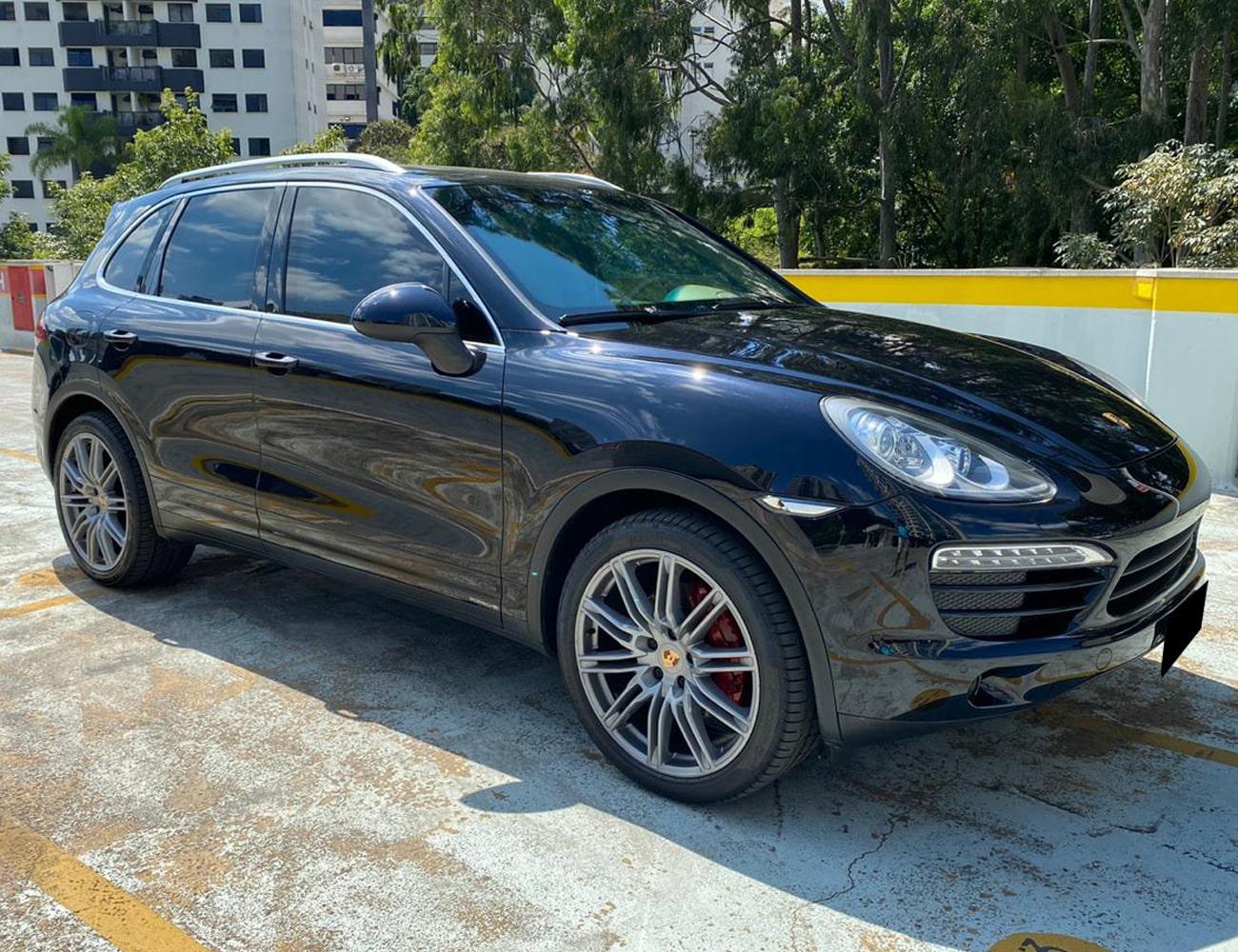 Porsche CAYENNE locação de suv com motorista