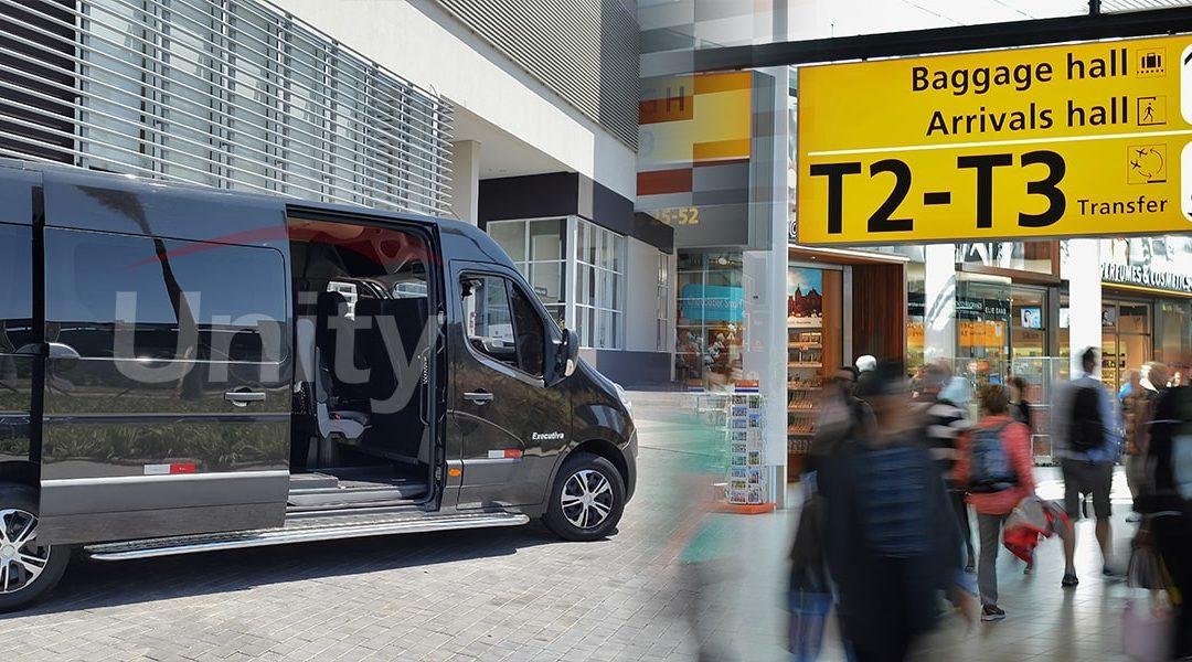 Quanto custa alugar uma van para ir ao aeroporto?