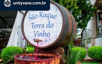 Aluguel de Van para Rota do Vinho em São Roque