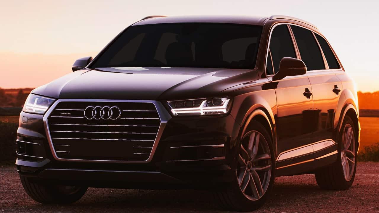 Transporte Executivo VIP para empresas, consulados, governo com Audi Q7 Quattro Blindado