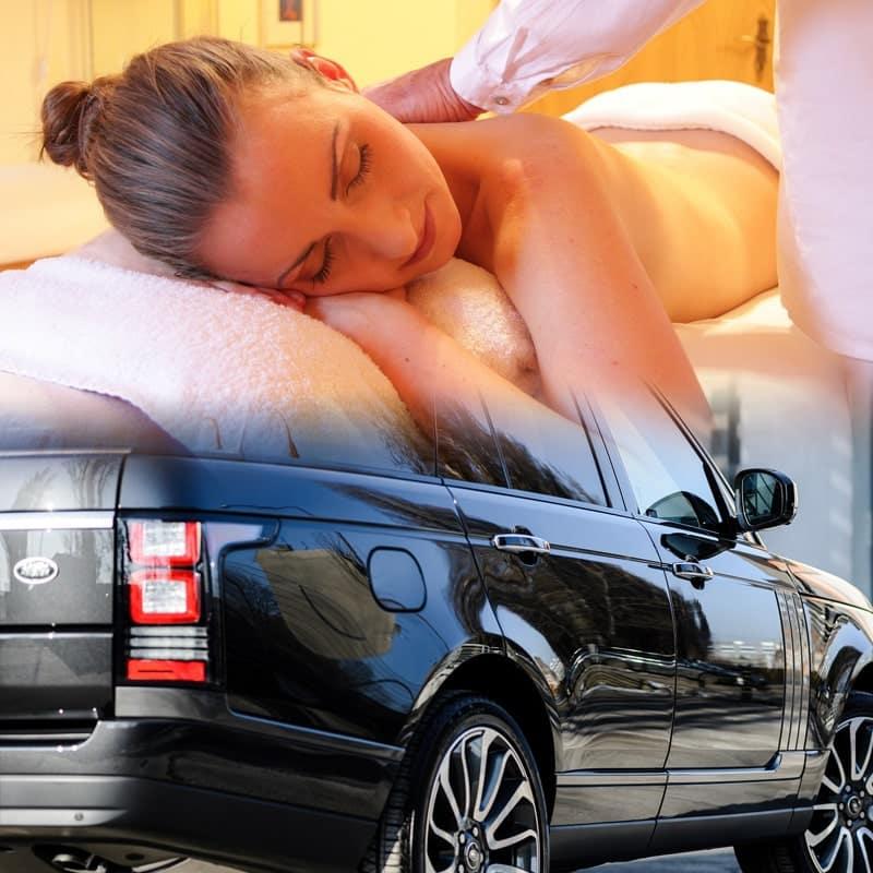 Transporte Executivo e Transfer para Hotel SPA