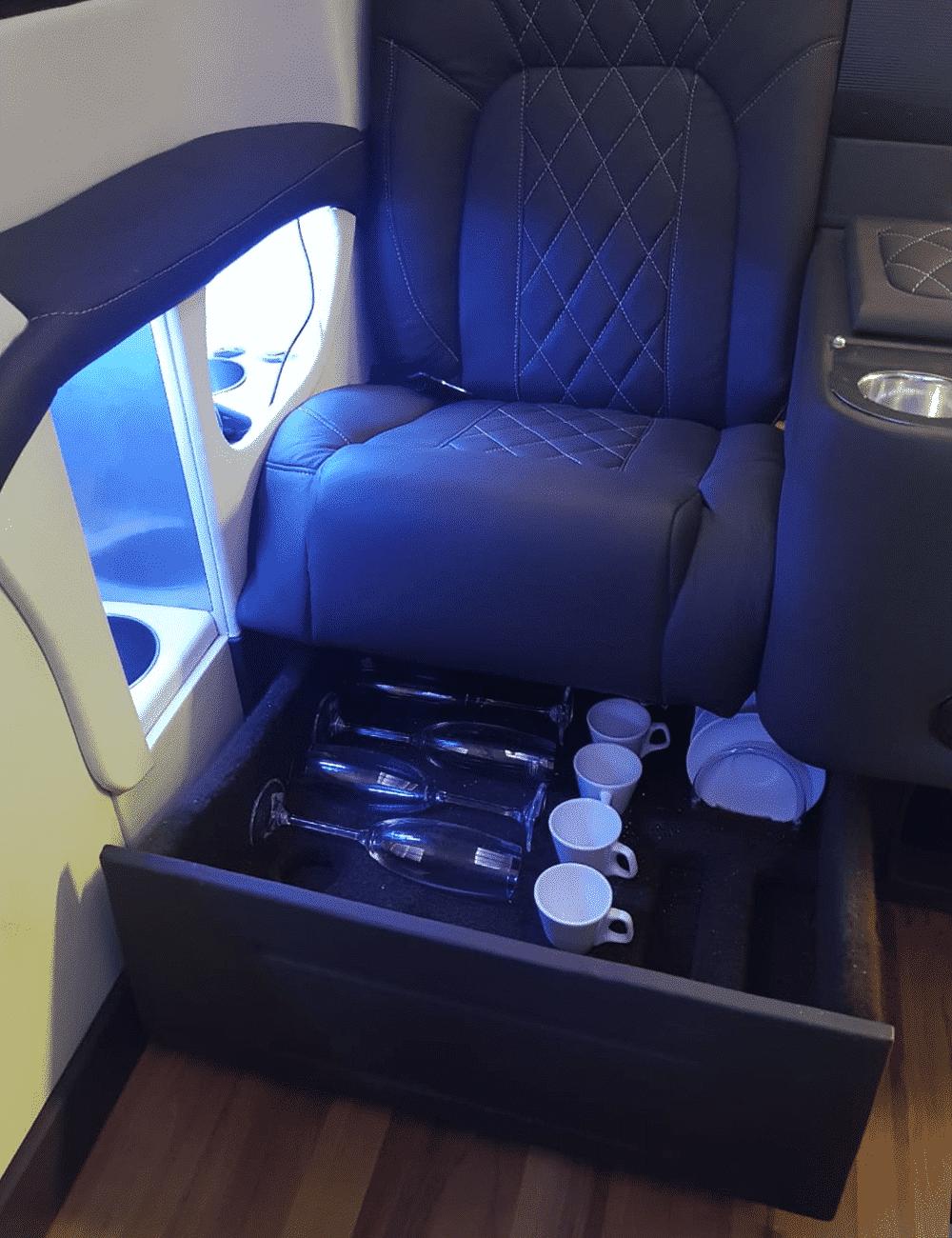 Transporte Luxo com Mini Jet