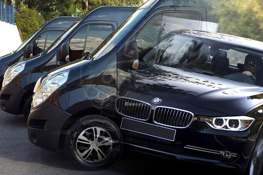 Transporte corporativo unity vans vip service
