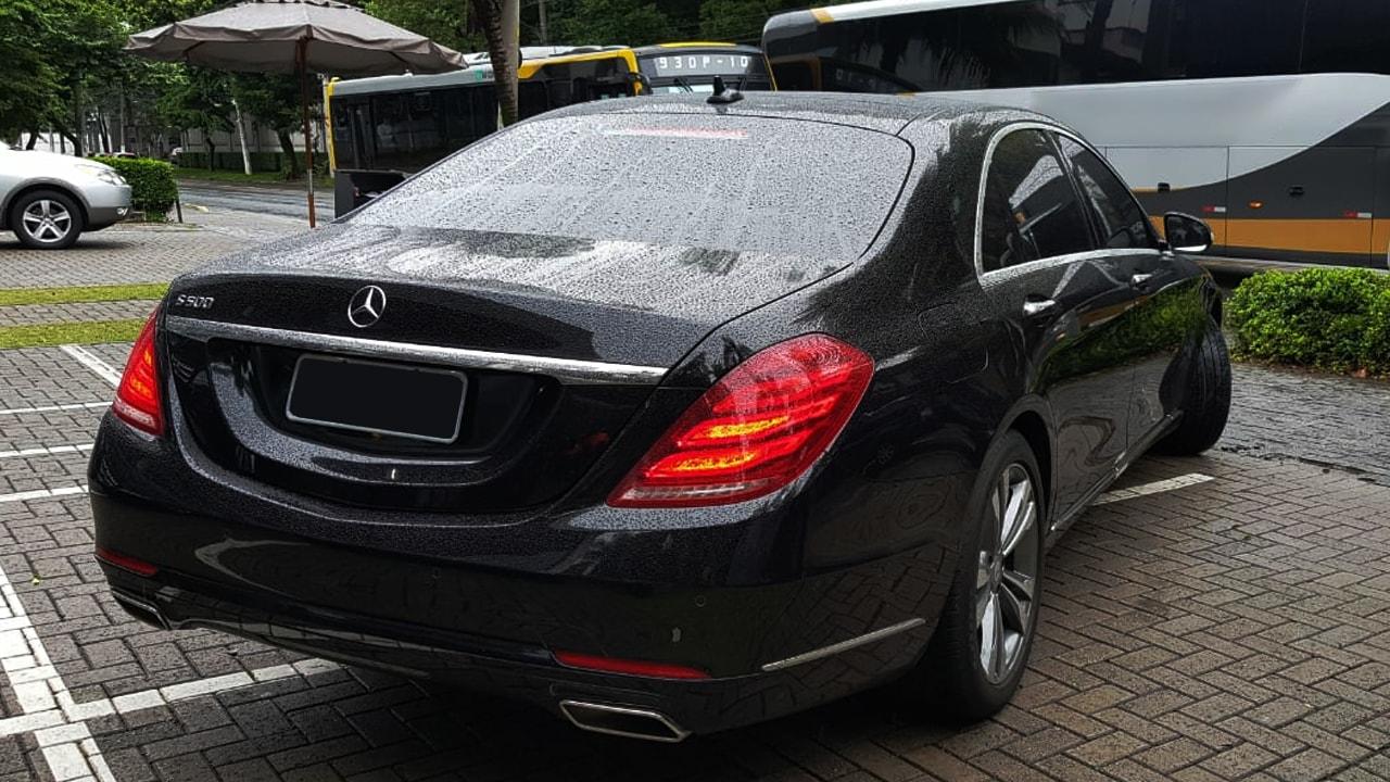 Transporte executivo premium com S500l Vip em Sp