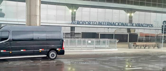 Traslado para o Aeroporto Internacional de Viracopos