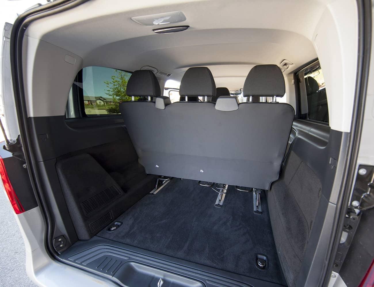 porta malas vito mercedes transporte executivo em sp